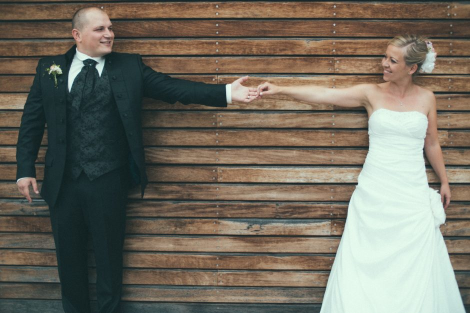 """Noch nachzureichen sind ein paar Hochzeitsimpressionen der Hochzeit von Jessi und Andi, auf deren Mist auch die sensationelle Idee gewachsen war, ein Hochzeitsfoto zu machen, dass """"etwas"""" außergewöhnlich ist 😉"""